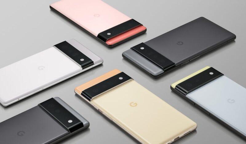 Google Pixel6シリーズ登場